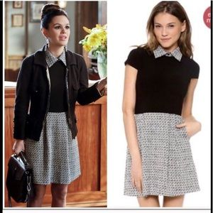 Alice + Olivia Charlotte Tweed Dress